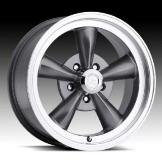 SPECIAL BUY WHEELS  VISION LEGEND 5 TYPE 141 GUNMETAL RIM with MACHINED LIP PPT