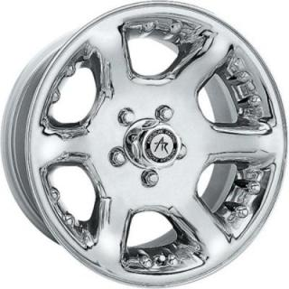 SPECIAL BUY WHEELS  AMERICAN RACING AR660 ALTAS CHROME RIM PPT