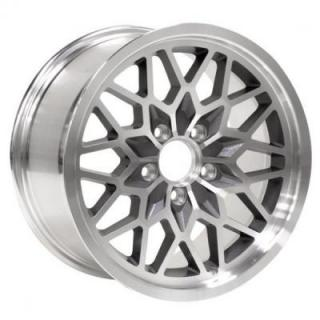SNOWFLAKE 4TH GEN GUNMETAL RIM with MACHINED LIP from YEARONE WHEELS
