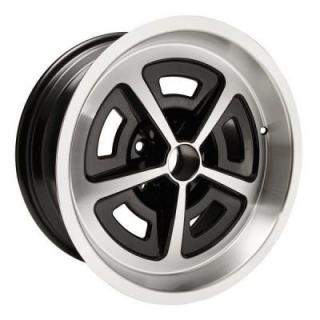 GM MAGNUM BLACK RIM with MACHINED LIP by YEARONE WHEELS