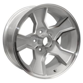 N90 SILVER RIM with MACHINED LIP by YEARONE WHEELS