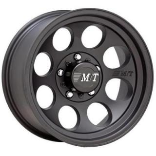 SPECIAL BUY WHEELS  MICKEY THOMPSON CLASSIC III SATIN BLACK RIM PPT