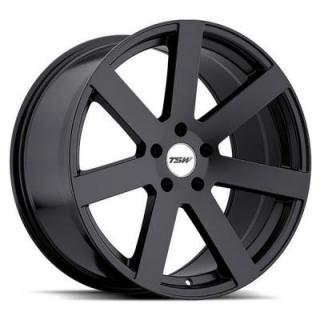 TSW WHEELS  BARDO MATTE BLACK RIM