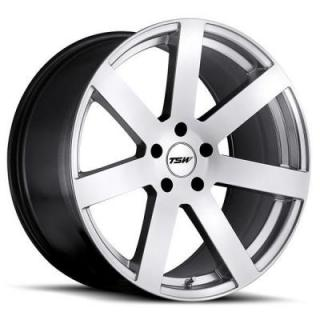 TSW WHEELS - OCT. SALE!  BARDO HYPER SILVER RIM