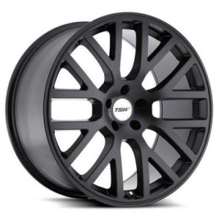 DONINGTON MATTE BLACK RIM from TSW WHEELS