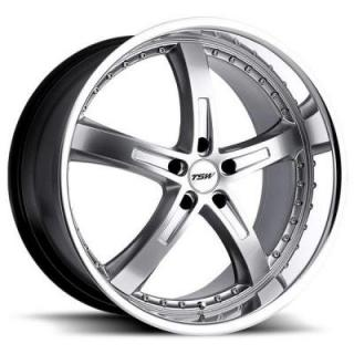 TSW WHEELS - EARLY BLACK FRIDAY SPECIALS!   JARAMA HYPER SILVER RIM with MIRROR CUT LIP