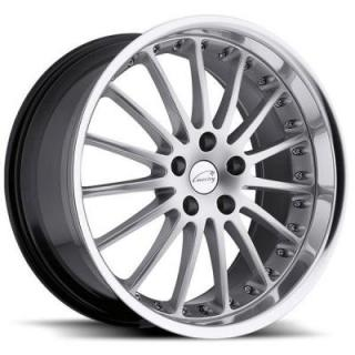 WHITLEY HYPER SILVER RIM with MIRROR CUT LIP by COVENTRY WHEELS