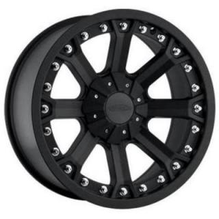 SERIES 7033 FLAT BLACK RIM by PRO COMP ALLOYS WHEELS