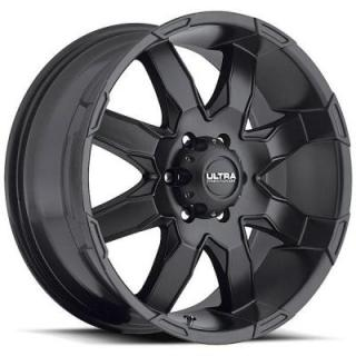 ULTRA WHEELS  PHANTOM 225 SATIN BLACK RIM