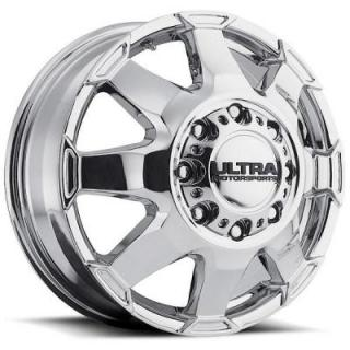 ULTRA WHEELS  PHANTOM DUALLY 025 CHROME FRONT RIM