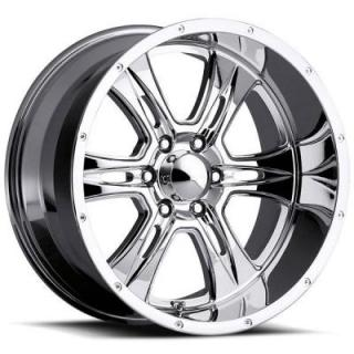 ULTRA WHEELS  PREDATOR 286 6 LUG CHROME RIM