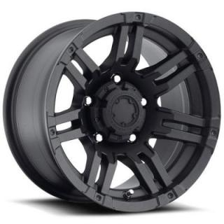 ULTRA WHEELS  GAUNTLET 237/238 MATTE BLACK 5 LUG RIM