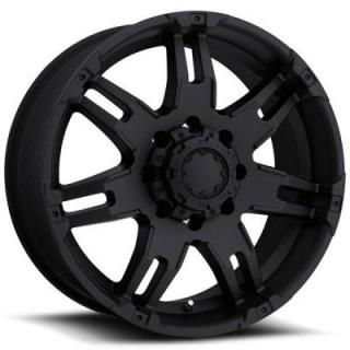 GAUNTLET 237/238 MATTE BLACK 8 LUG RIM from ULTRA WHEELS
