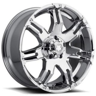 ULTRA WHEELS  GAUNTLET 237/238 CHROME 5 LUG RIM