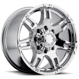 ULTRA WHEELS  GAUNTLET 237/238 CHROME 8 LUG RIM