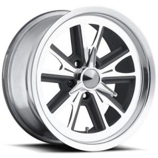 ULTRA WHEELS  TYPE 454 ANTHRACITE RIM with DIAMOND CUT ACCENTS