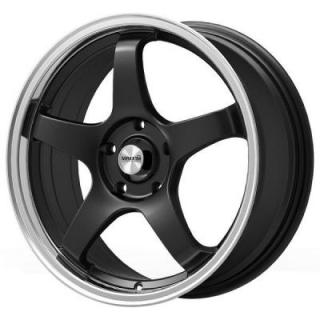 MAXXIM WHEELS  CHAMPION GLOSS BLACK MACHINED LIP