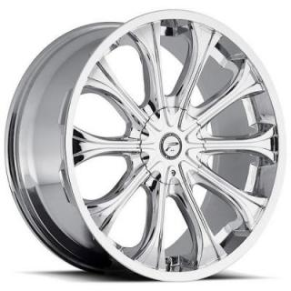 PLATINUM WHEELS  MOGUL 408 CHROME RIM