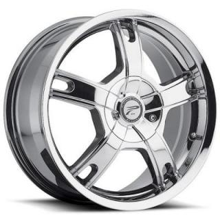 PLATINUM WHEELS  TRACKER 210 CHROME RIM