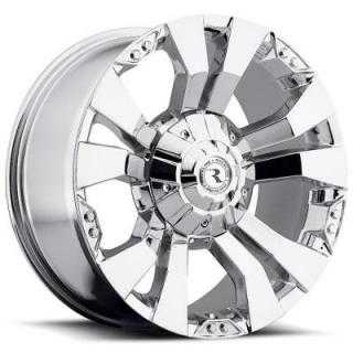 RACELINE WHEELS   901C RAMPAGE CHROME RIM