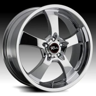 RACELINE WHEELS   135 MAXIM 5 CHROME RIM