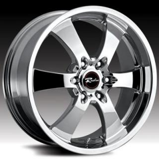 RACELINE WHEELS  136 MAXIM 6 CHROME RIM