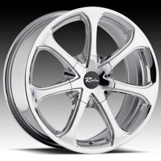 RACELINE WHEELS  197 CHROME RIM
