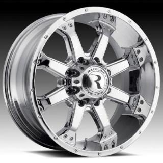 RACELINE WHEELS   991C ASSAULT CHROME RIM