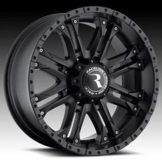 RACELINE WHEELS  996B OCTANE BLACK RIM
