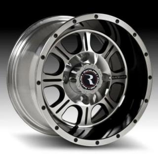 RACELINE WHEELS  A8 MONSTER MACHINED RIM