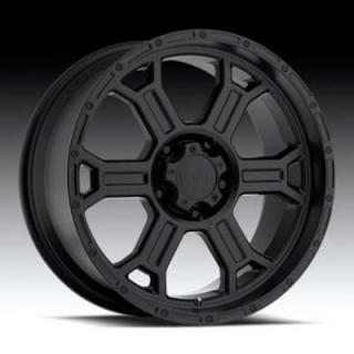 SPECIAL BUY WHEELS  RAPTOR 372 RWD MATTE BLACK RIM PPT