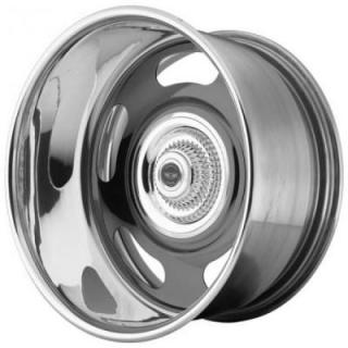VN327 RALLY GRAY CENTER RIM with POLISHED BARREL from AMERICAN RACING WHEELS