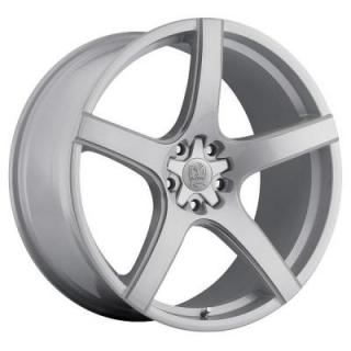SPECIAL BUY WHEELS  MOTIV 410S MARANELLO GLOSS SILVER PPT