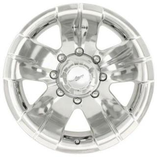 ION ALLOY WHEELS  TYPE 138 POLISHED RIM