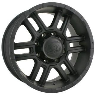 ION ALLOY WHEELS  TYPE 179 MATTE BLACK RIM