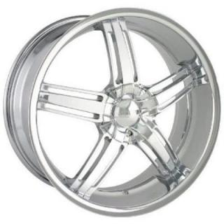 DIP WHEELS  AMBUSH CHROME WHEEL