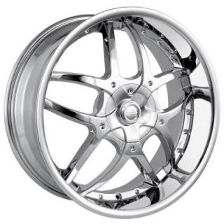 DIP WHEELS  BOOMERANG CHROME WHEEL