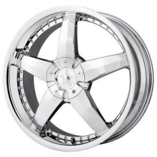DIP WHEELS  LASER CHROME WHEEL