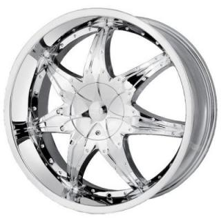DIP WHEELS  LIBRA CHROME WHEEL