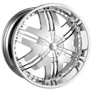 DIP WHEELS  PHOENIX CHROME WHEEL