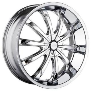 DIP WHEELS  SLACK CHROME WHEEL