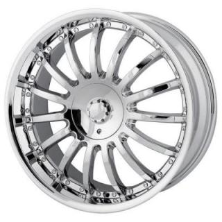 MPW WHEELS  MP101 CHROME RIM