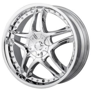 MPW WHEELS  MP102 CHROME RIM
