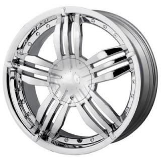 MPW WHEELS  MP105 CHROME RIM