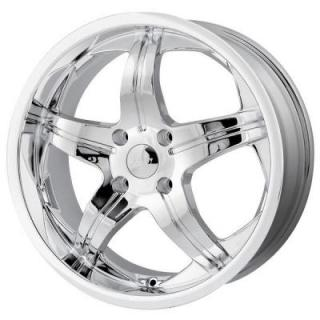 MPW WHEELS  MP107 CHROME RIM