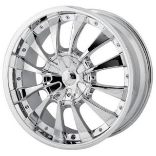 MPW WHEELS  MP202 CHROME RIM
