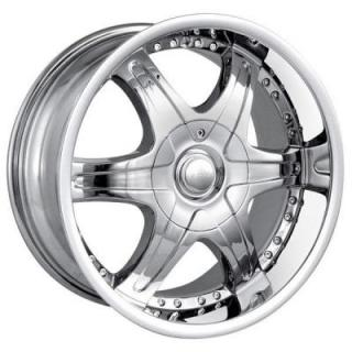 MPW WHEELS  MP205 CHROME RIM