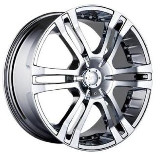 MPW WHEELS  MP207 CHROME RIM