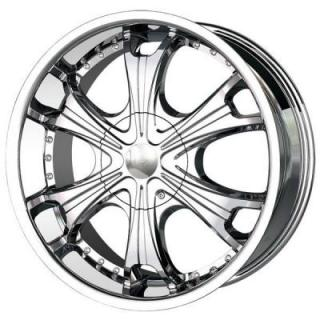 MPW WHEELS  MP209 CHROME RIM