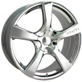TR9 CHROME RIM from TOUREN WHEELS